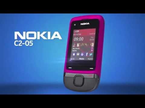 Nokia C2 05 Slide Phone