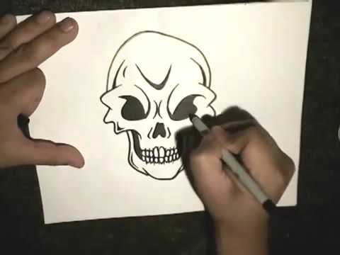 How To Draw A Skull With Pictures Wikihow 9