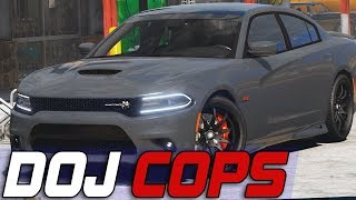 Dept. of Justice Cops #579 - Packing The Scat