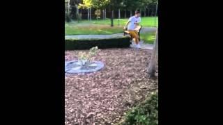 Baby Pug Jumping Fail