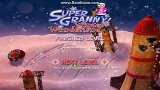 Super Granny Winter Wonderland Lv 32 - 34