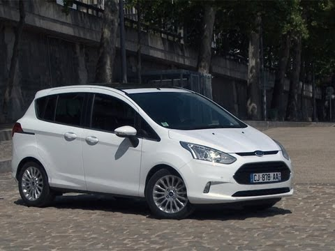 essai ford b max 1 0 ecoboost 120 titanium 2013 youtube. Black Bedroom Furniture Sets. Home Design Ideas
