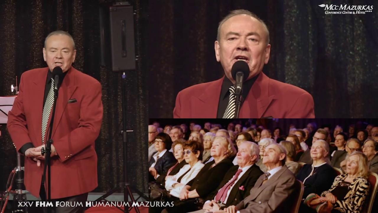 XXV FHMazurkas - benefis Z. Słowińskiego - Andrzej Dyszak parodiuje B.Łazukę