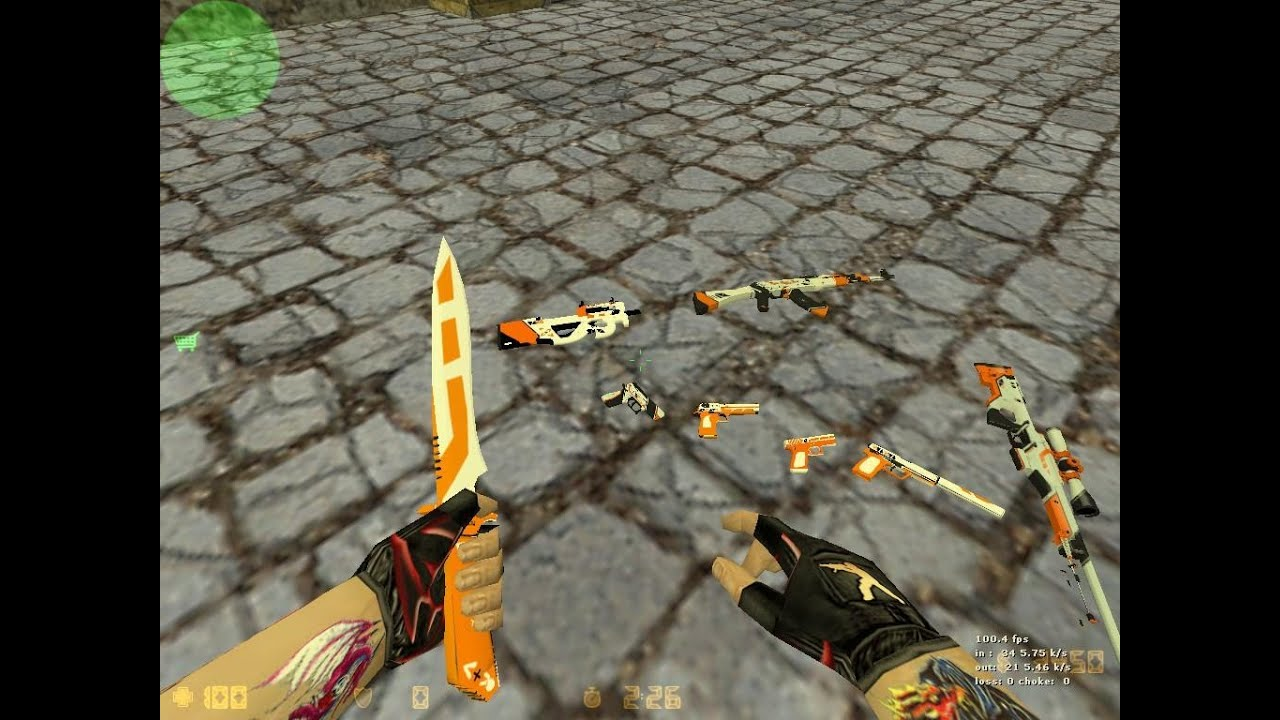Скачать модели оружия из cs:s для cs 1. 6.