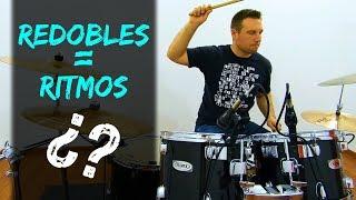 Aprende a usar RITMOS como REDOBLES - Clases de batería