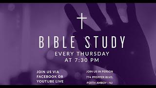 Thursday Night Bible Study   Evangelist Karen Dunn   Higher Purpose Fellowship