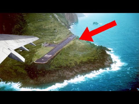 8 Most DANGEROUS Airports In The World!