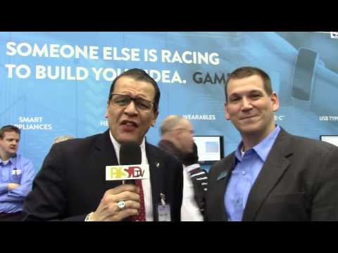 PSDtv - John Weil of Cypress Semi talks about their new MCUs at embedded world
