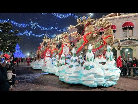 Cast Member Christmas Party at Disneyland Paris