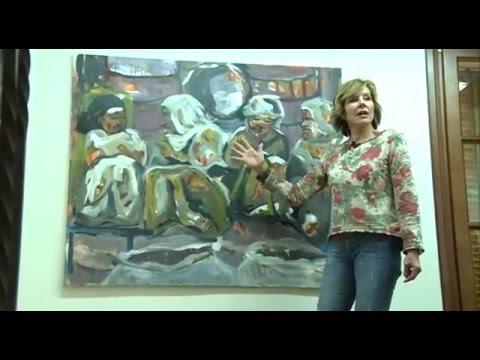 Gisela Hammer Art Profile in TV Mallorca Canal 4tv #MallorcaTV #giselahammerart