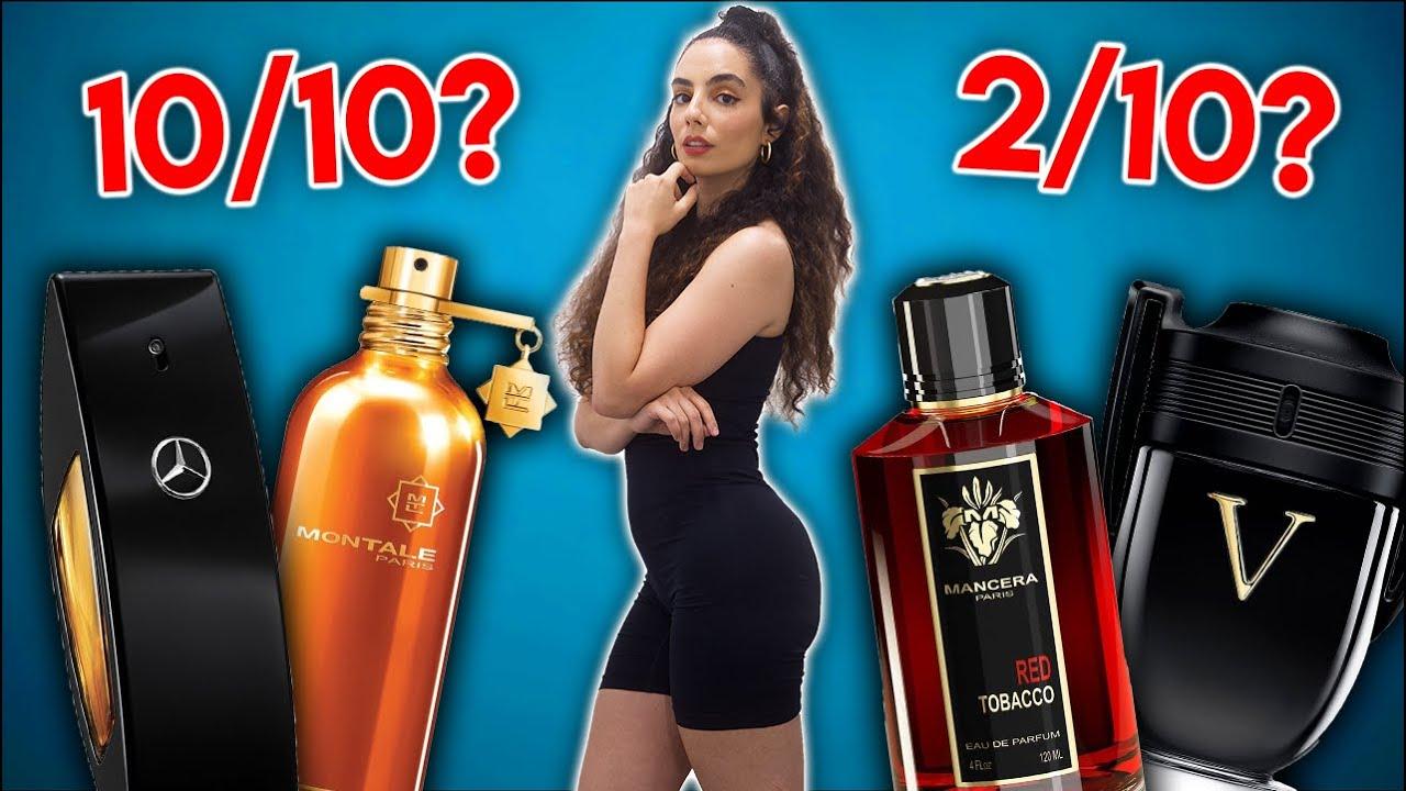 RATING 10 POPULAR & HYPED MEN'S COLOGNES 😬   Women Rate Men's Fragrances