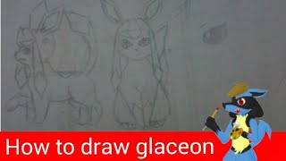 how to draw glaceon tutorial(requested)