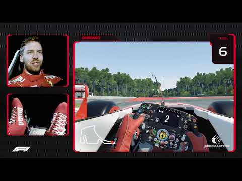 Take A Virtual Hot Lap Of Hockenheim With Sebastian Vettel