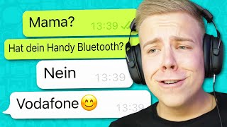 CHAT MIT MAMA 😂 WHATSAPP FAILS