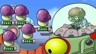 Plants Vs Zombies Star Wars - FINAL Zomboss Battle Level 6 Walkthrough - PVZ Tower Defense