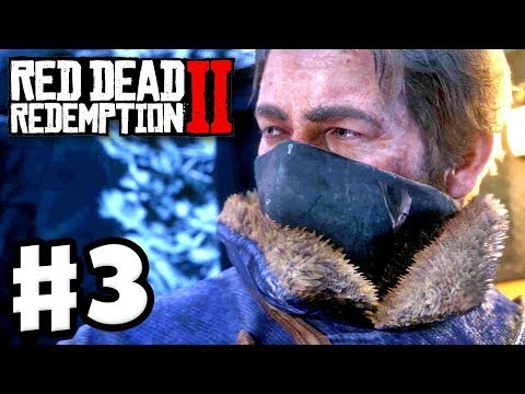 Red Dead Redemption 2 - Gameplay Walkthrough Part 3 - Train Robbery! (RDR2 PS4)