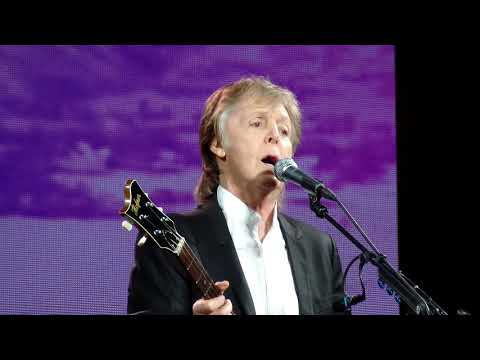 Paul McCartney-Jet-Centurylink Center, Bossier City, LA, July 15, 2017