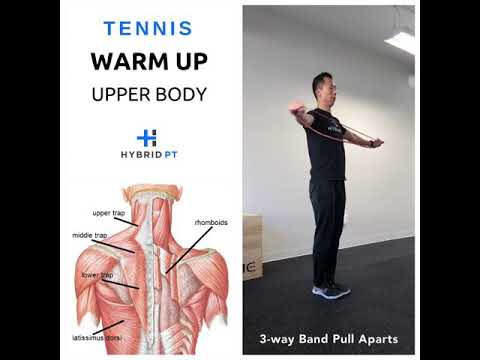 Warmup Exercises for Tennis