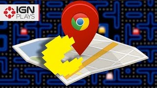 Playing Pac-Man...on Google Maps - IGN Plays