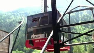 Aiguille du Midi/Mont Blanc Mountain Range Cable Cars