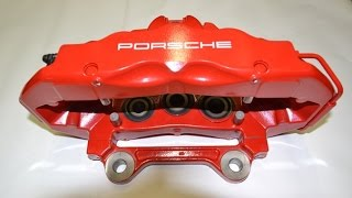 Замена задних колодок #PORSCHE CAYENNE / #VW #TOUAREG / #AUDI Q7, Replacement back pad