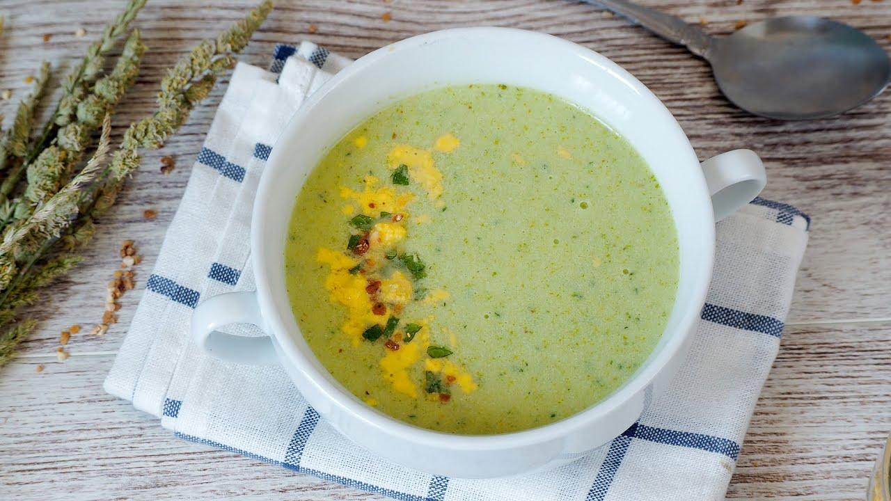Sopa Fría de Lechuga