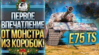[Гайд] E 75 TS - ПЕРВЫЕ ОЩУЩЕНИЯ ОТ МОНСТРА ИЗ КОРОБОК!