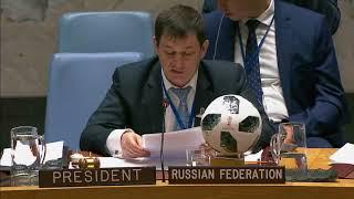 Выступление Д.А.Полянского на заседании СБ ООН по ситуации в Мали