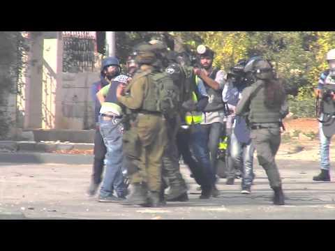 Attack on journalists diya houshiya and munther khateeb