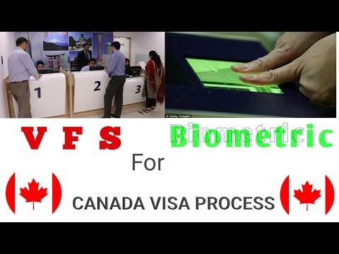 Biometric For Canada Visa Process (VFS)|what Are The Documents Required For It..(In Punjabi)