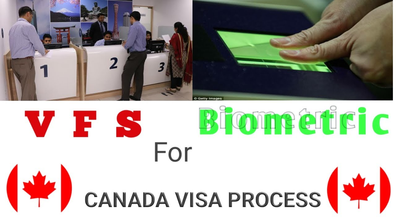 Biometric for canada visa process (VFS)|what are the documents required for  it  (In Punjabi)