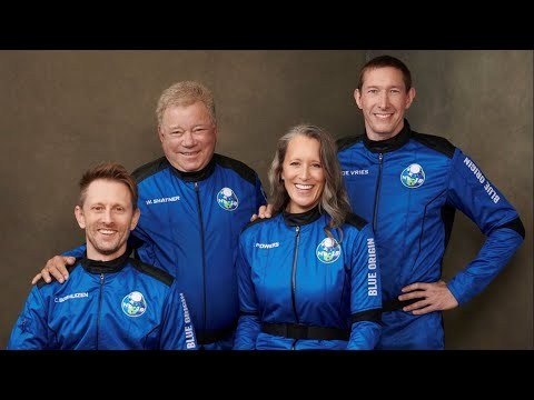 William Shatner heads to space: Live coverage of Blue Origin launch