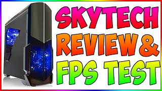 SkyTech Shadow Gaming Computer Unboxing and FPS Tests! (CSGO, Fallout 4, Gmod, WaW, and more!)