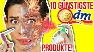 OMG! 😳 10 GÜNSTIGSTE DM BEAUTY PRODUKTE im TEST!💥 DROGERIE BEAUTY NEUHEITEN HAUL SEPTEMBER 2017