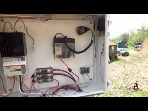 Off-Grid Solar Power Project Completed!