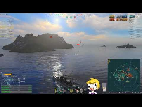 World of warships - 3x Shimakaze 20km torps WIDE spread only