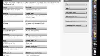 WordPress Tutorial - How to add sidebar menu
