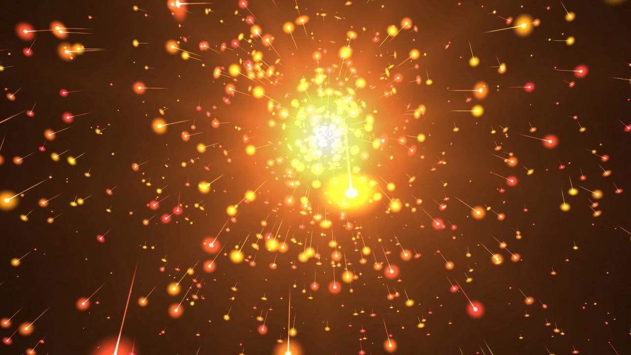 Cool Orange Backgrounds: 8K 60fps ☑ Orange Comets Spring ☑ Epic Moving Backgrounds