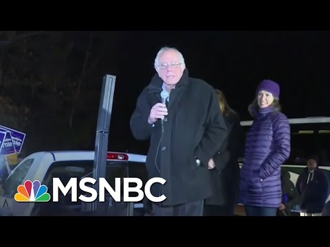 Bernie Sanders Up Early After Iowa, Stumps In New Hampshire | Morning Joe | MSNBC