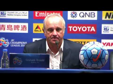 Arnie Post Guangzhou | Head Coach Interview | Sydney FC
