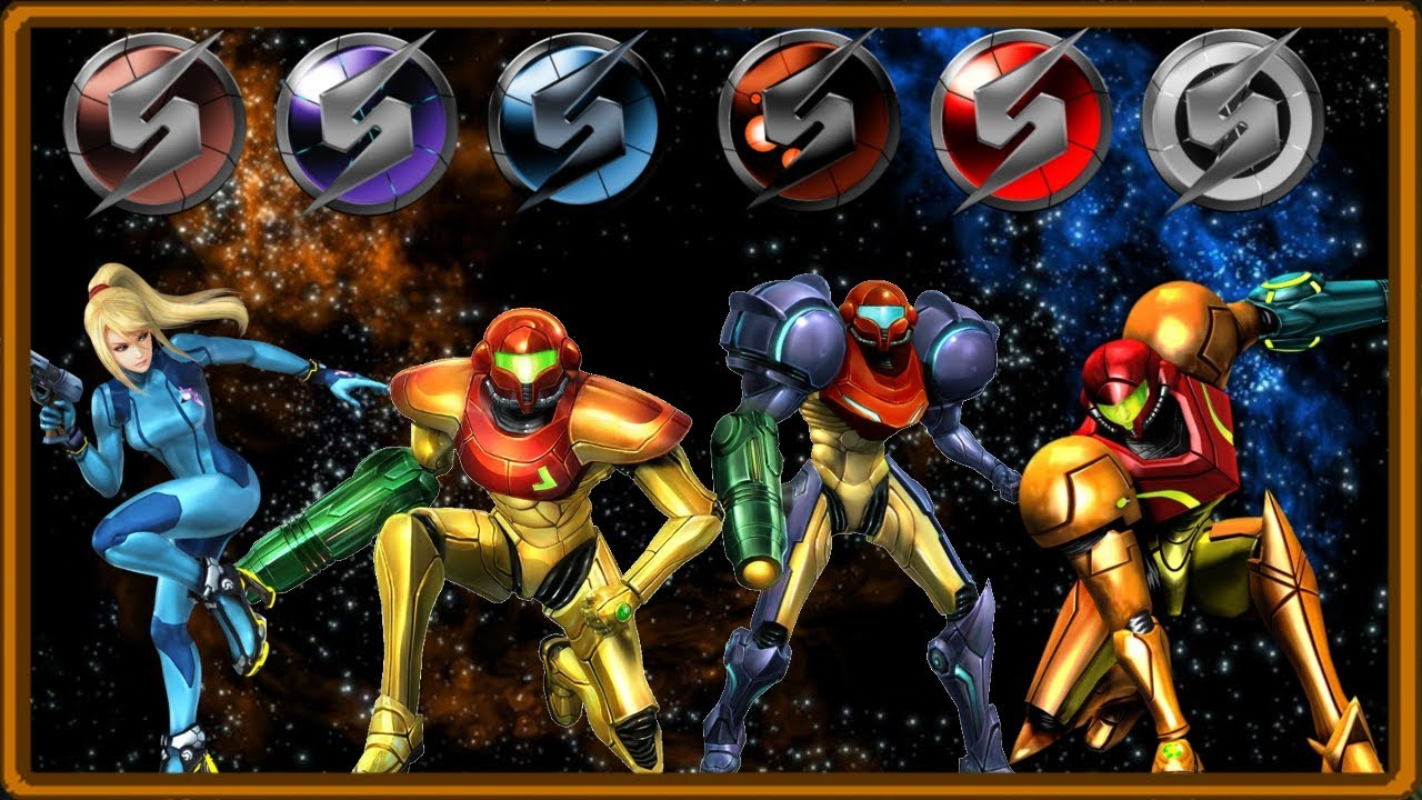 top five armored suits in metroid youtube
