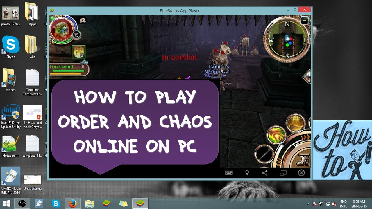 How To Play Order And Chaos Online On Pc [tutorial]