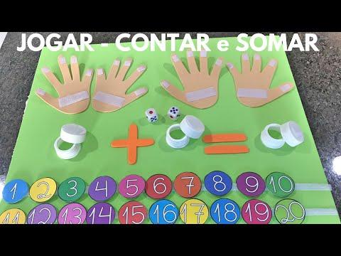 JOGAR - CONTAR e SOMAR