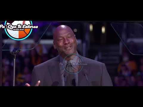 Michael Jordan Habló En El Homenaje De Kobe Bryant .