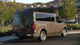 Nissan NV Passenger Van - Overview - ROGEE