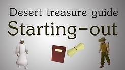 [OSRS] Desert treasure guide - Start