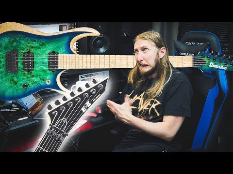 FAQ29 - ESP GUITARS, FISHMAN FLUENCE, COOL FEEDBACK, IBANEZ RGDIX6MPB-SBB