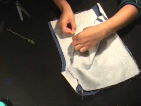 How to sew: shorts - YouTube