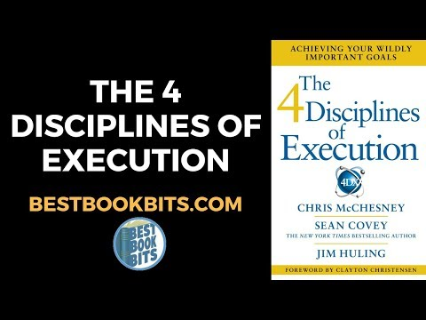 The 4 Disciplines of Execution | Chris McChesney Sean Covey Jim Huling | Summary | Bestbookbits.com