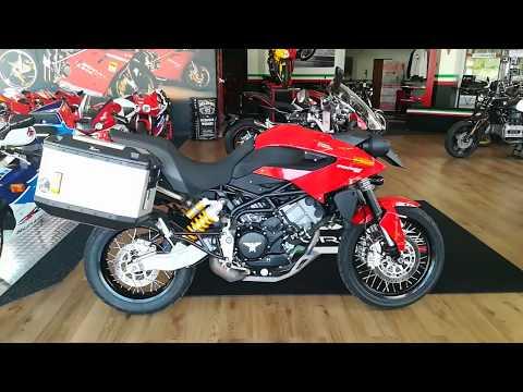 Moto Morini Granpasso 1200 - SPR Motorcycle